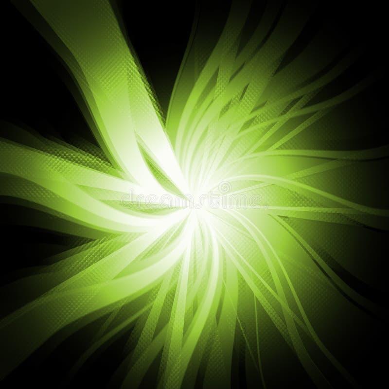 Groene Uitbarsting vector illustratie