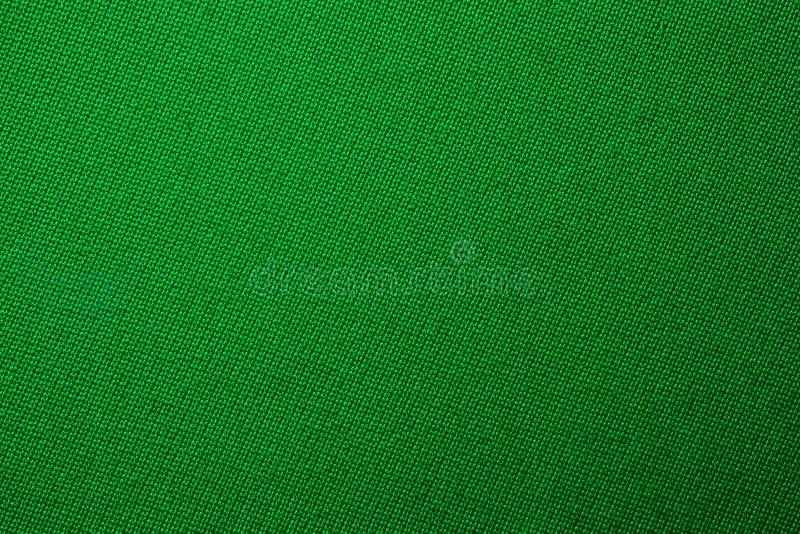 Groene van de de doekkleur van het poolbiljart de textuur dichte omhooggaand stock fotografie