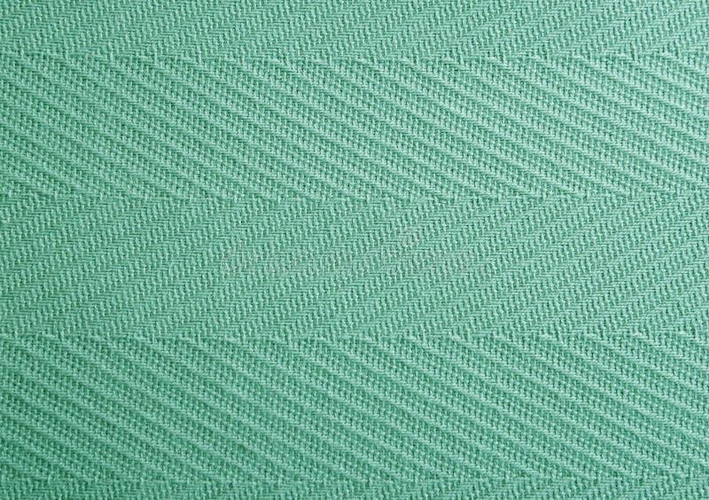 Groene van de stoffentextuur dichte omhooggaand als achtergrond stock foto