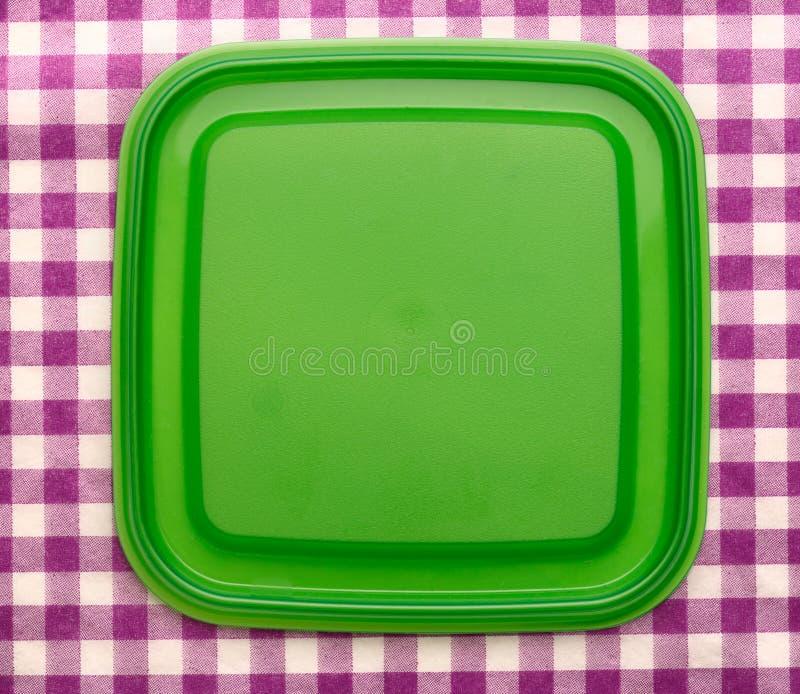 Download Groene Vierkante Plastic Dekking Stock Afbeelding - Afbeelding bestaande uit geweven, duidelijk: 54078467