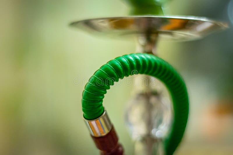 Groene waterpijp royalty-vrije stock foto