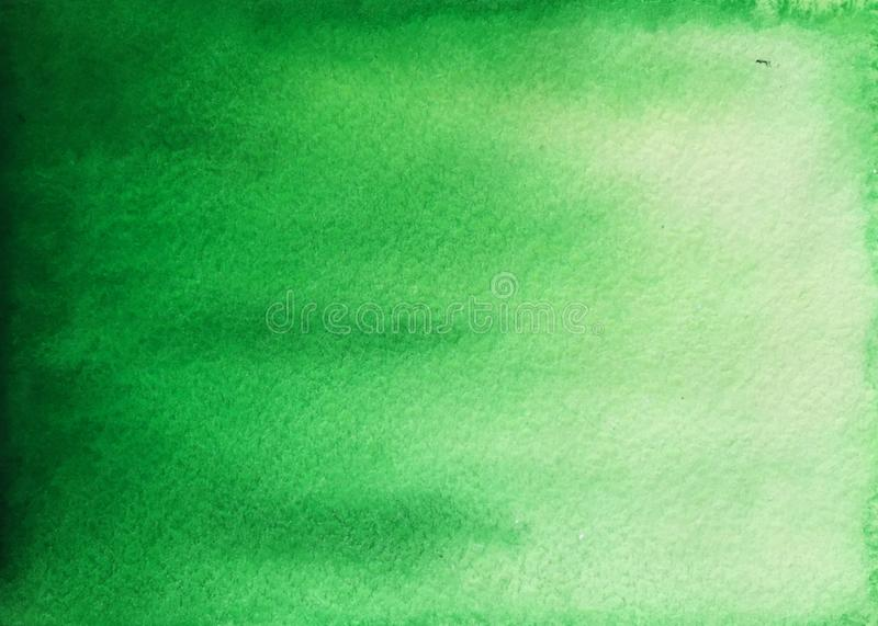 Groene waterverfachtergrond royalty-vrije stock fotografie