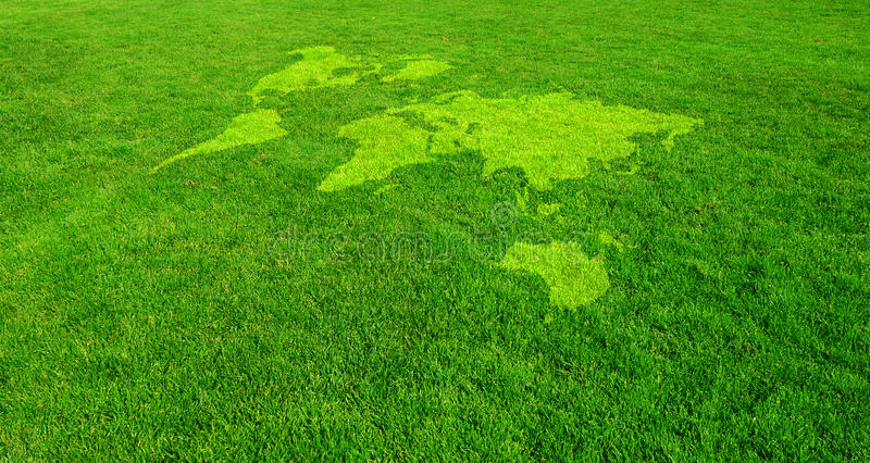 Groene Wereld royalty-vrije stock fotografie