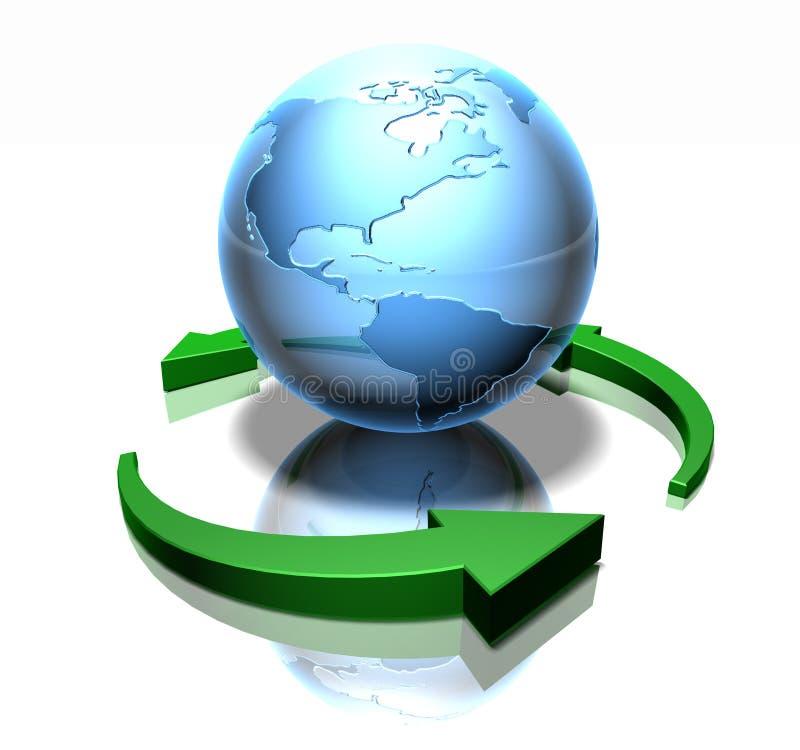 Groene wereld vector illustratie
