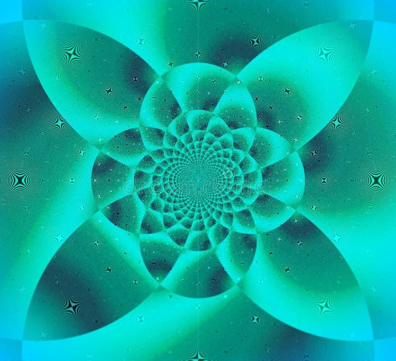 Groene Wonder Bloem van Lelijk vector illustratie