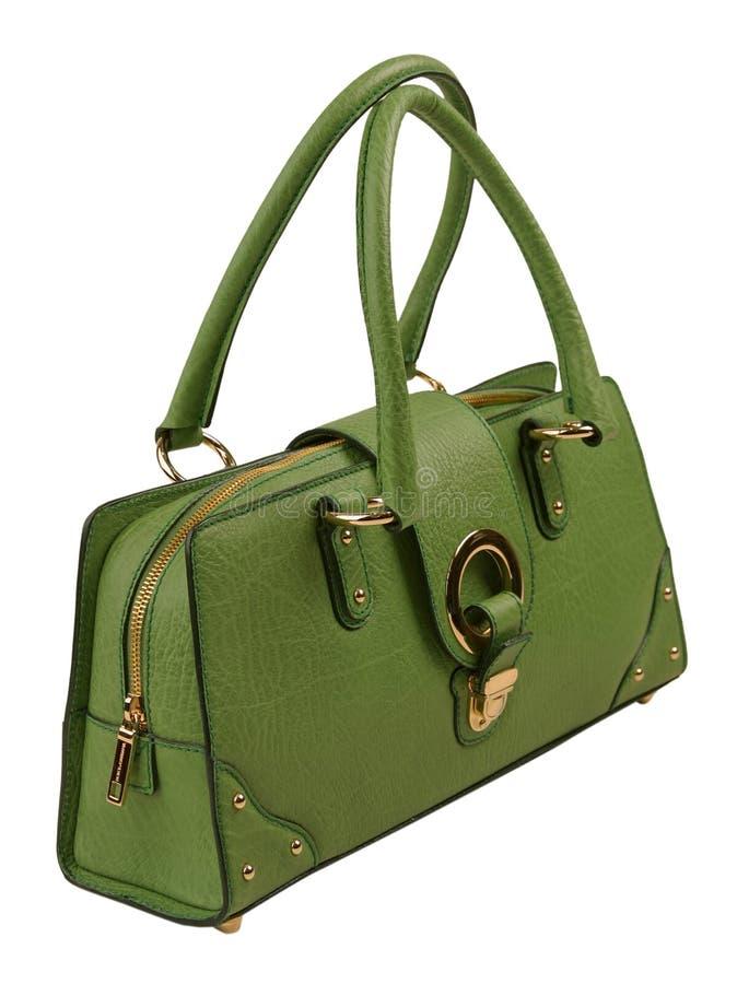 Groene zak royalty-vrije stock afbeeldingen