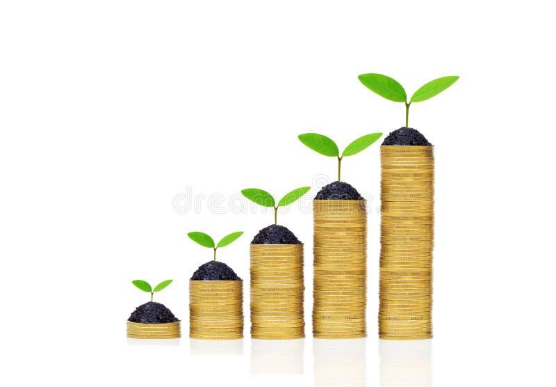 Groene zaken royalty-vrije stock afbeelding