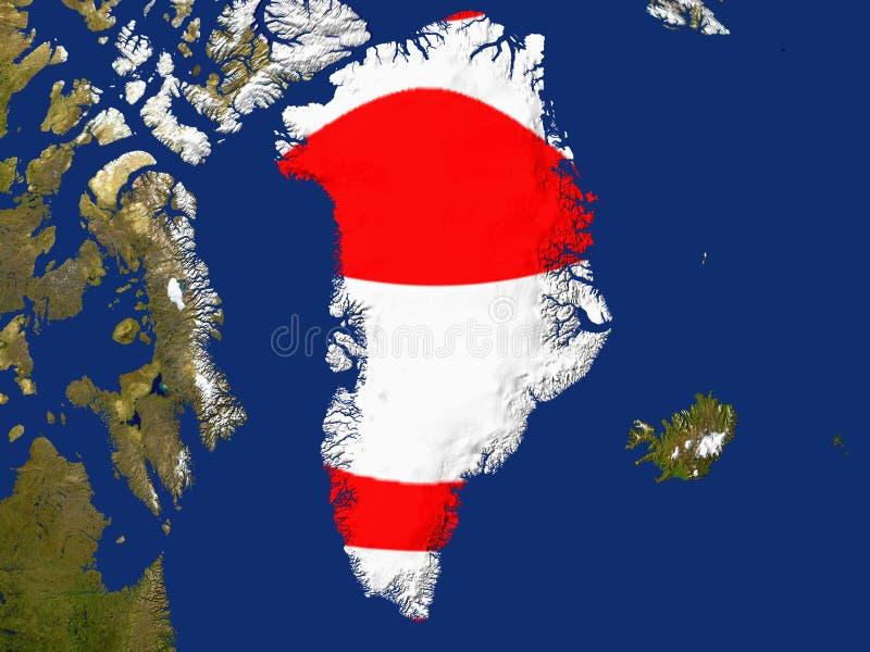Groenland royalty-vrije illustratie