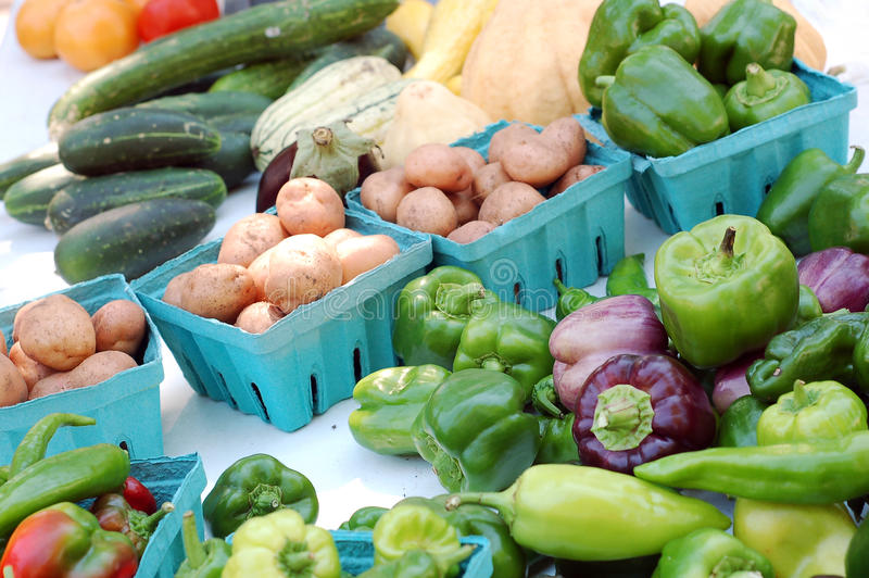 Download Groente in marktplaats stock foto. Afbeelding bestaande uit peper - 29511496