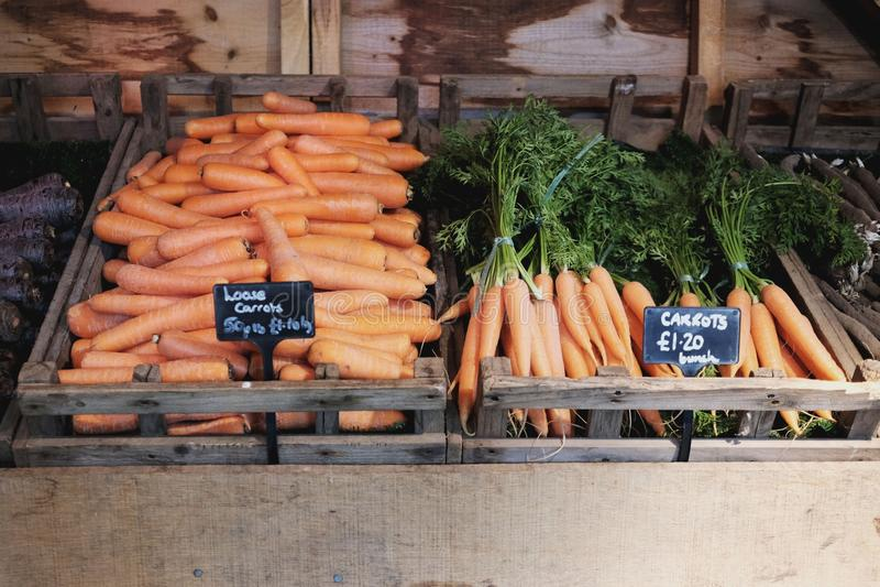 groentehandelaars stock fotografie