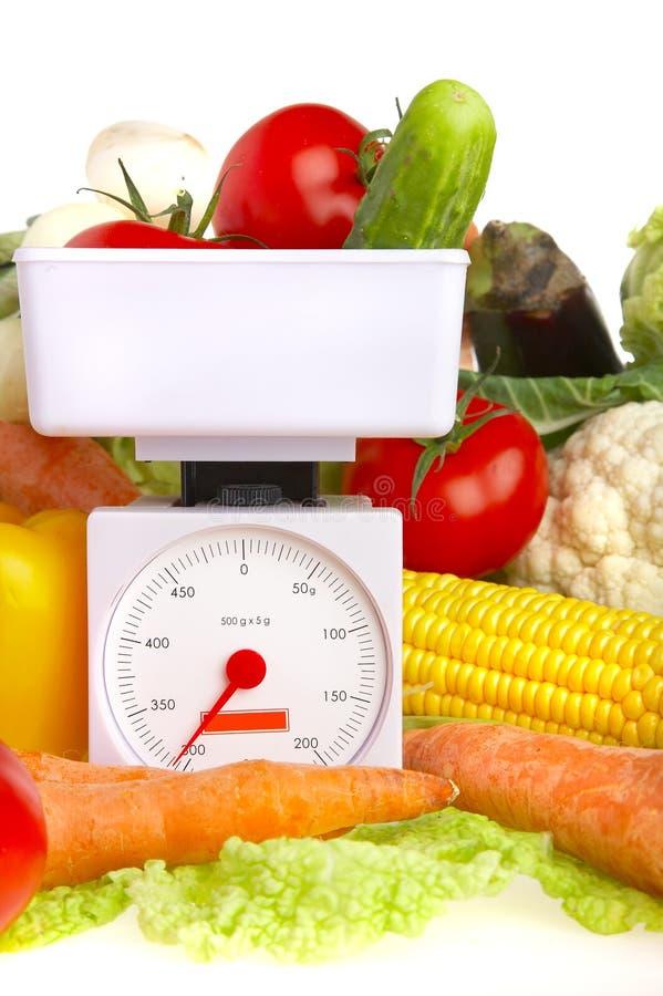 Groenten. Gezond voedsel stock foto's