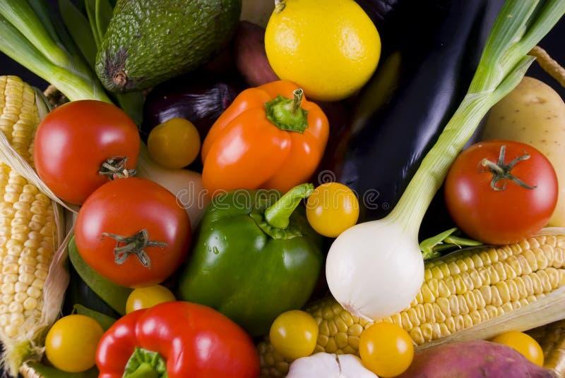 Groenten in het sluiten stock fotografie