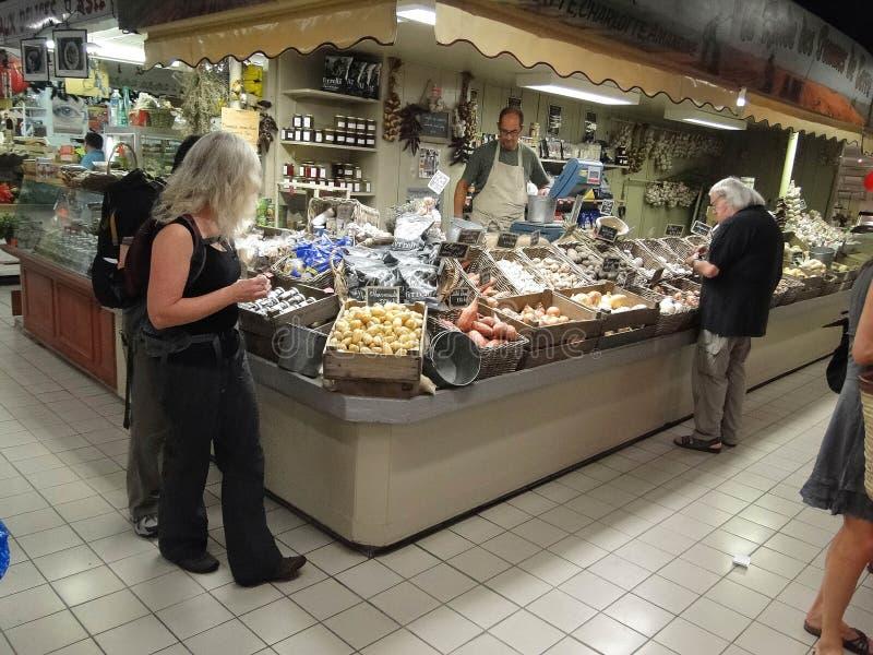 Groenten in Les Halle royalty-vrije stock afbeelding