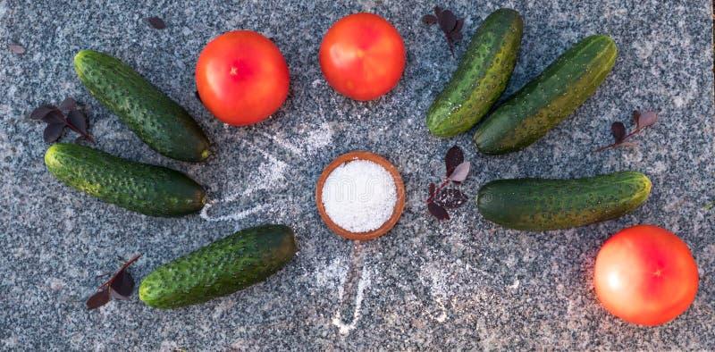Groenten voor een gezonde voeding stock fotografie
