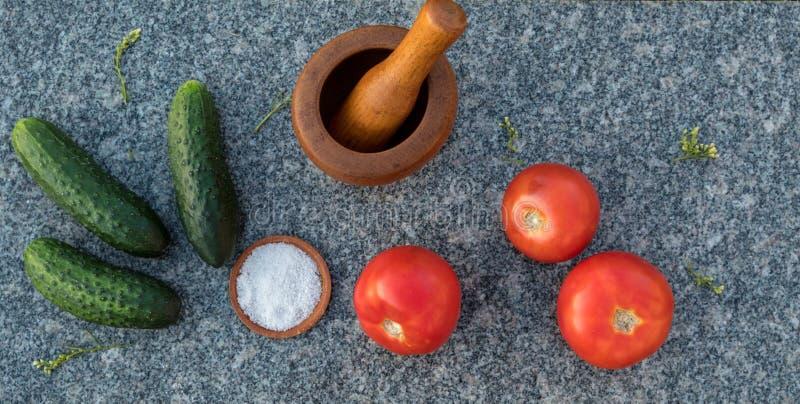 Groenten voor een gezonde voeding stock afbeelding