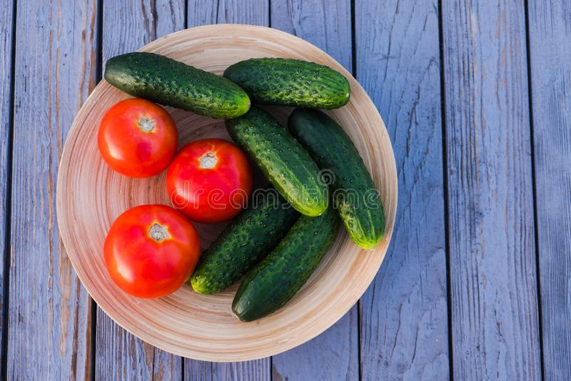Groenten voor een gezonde voeding royalty-vrije stock foto