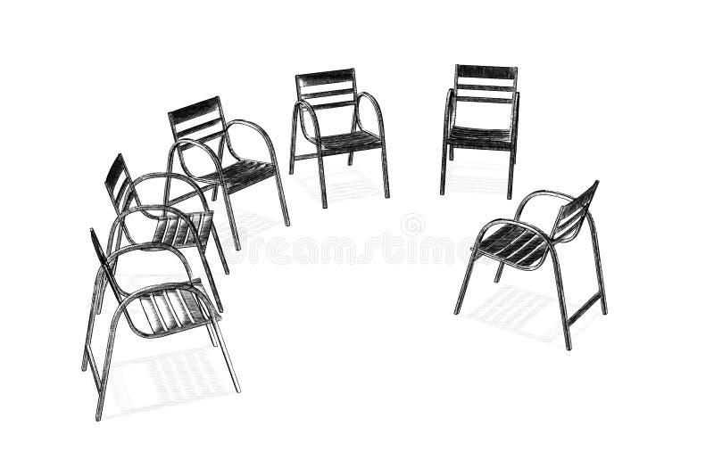 Groep stock illustratie