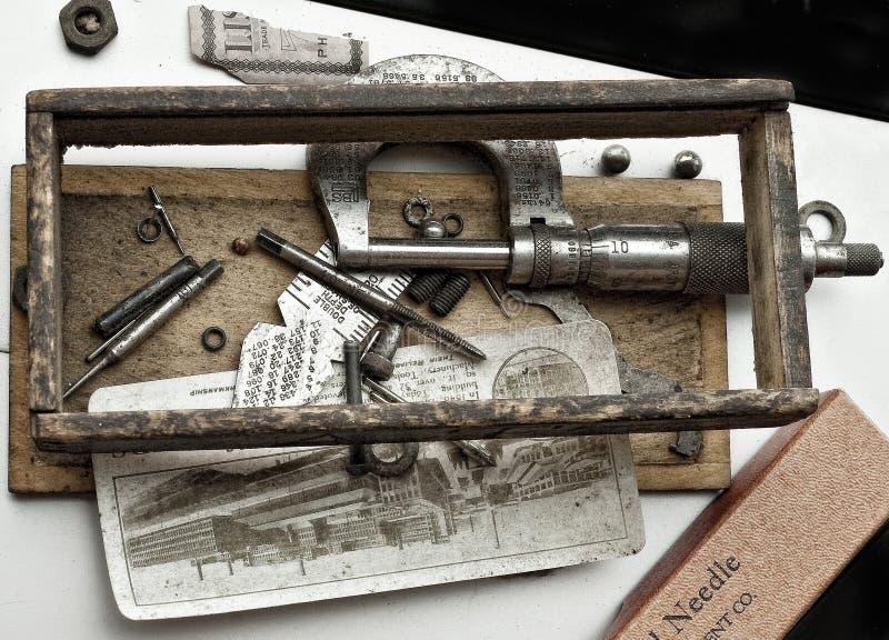 Groep Antieke Medische uitrustingen stock foto's