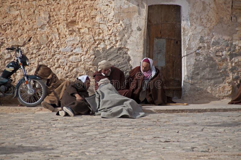 Groep Arabische mensen stock afbeelding