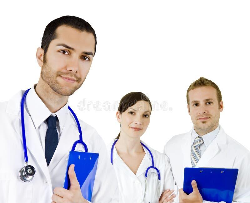 Groep artsen stock foto's