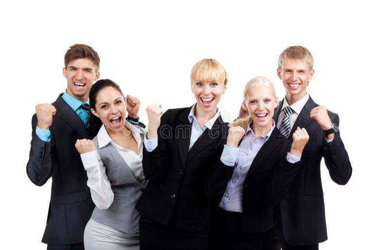 Groep bedrijfsmensen stock foto