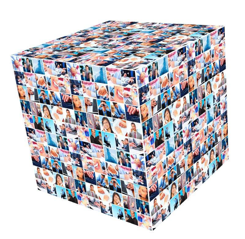 Groep bedrijfsmensen. royalty-vrije stock fotografie