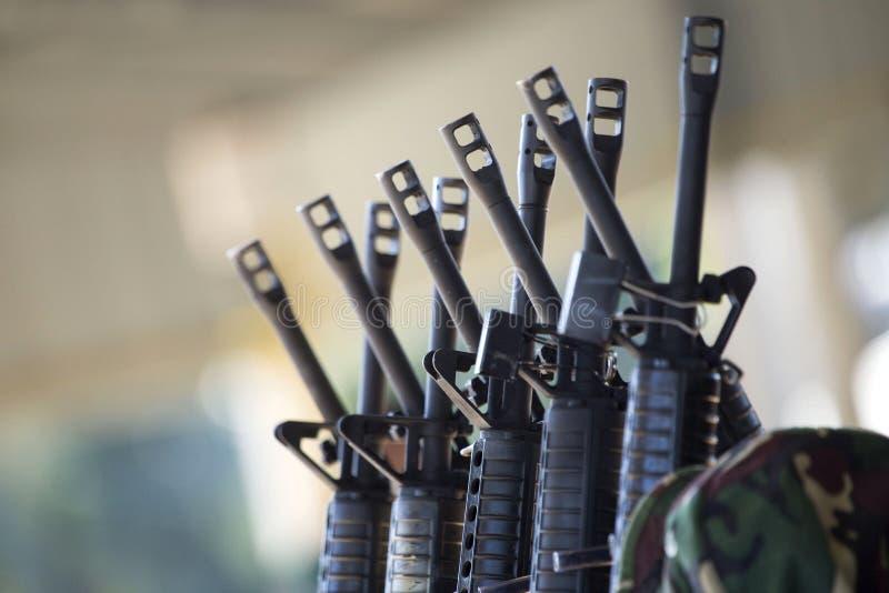 Groep geweren royalty-vrije stock afbeelding