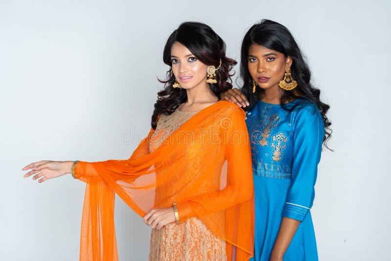 Groep Indische Vrouwen royalty-vrije stock afbeeldingen