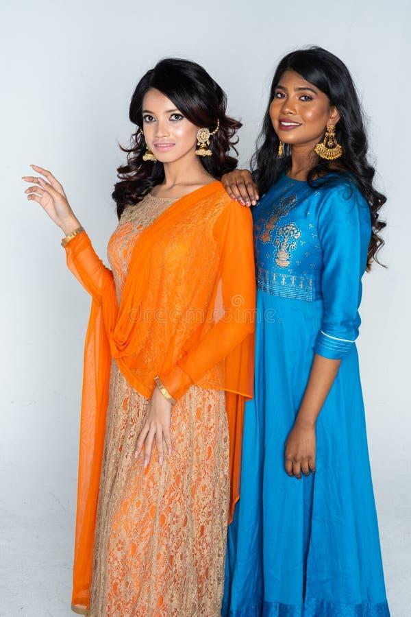 Groep Indische Vrouwen royalty-vrije stock afbeelding