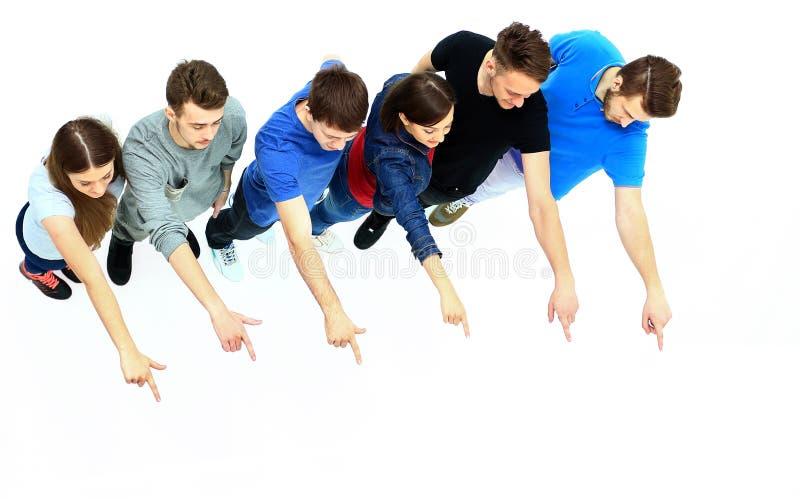 Groep jonge mensen stock afbeeldingen