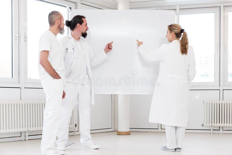 Groep medische arbeiders royalty-vrije stock fotografie