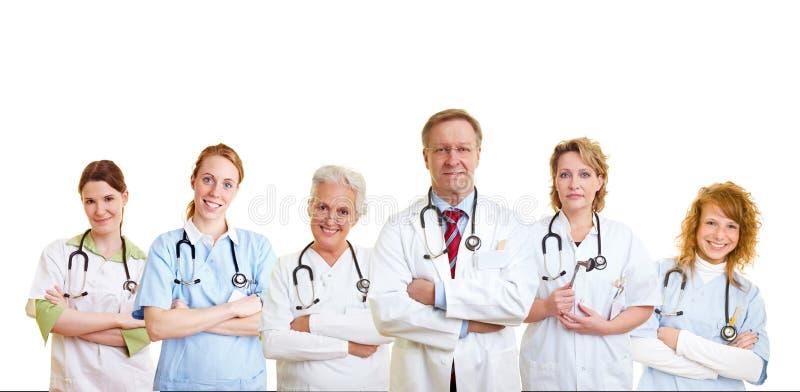 Groep medische behandelingmensen stock fotografie