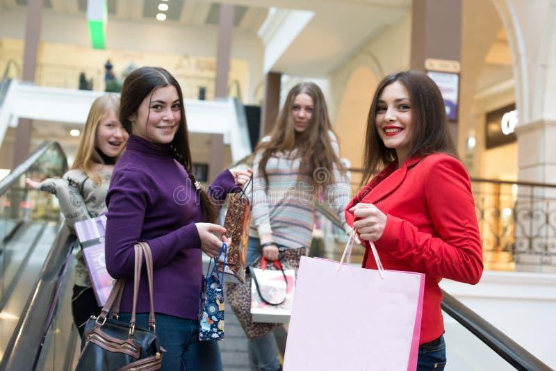 Groep meisjes stock fotografie
