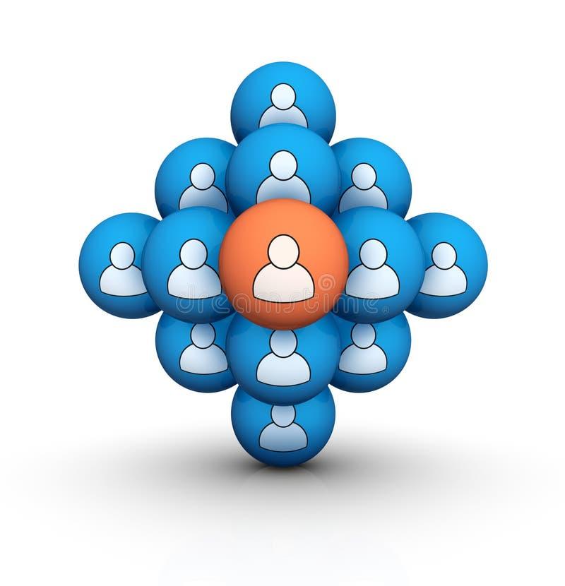 Groep mensen vector illustratie