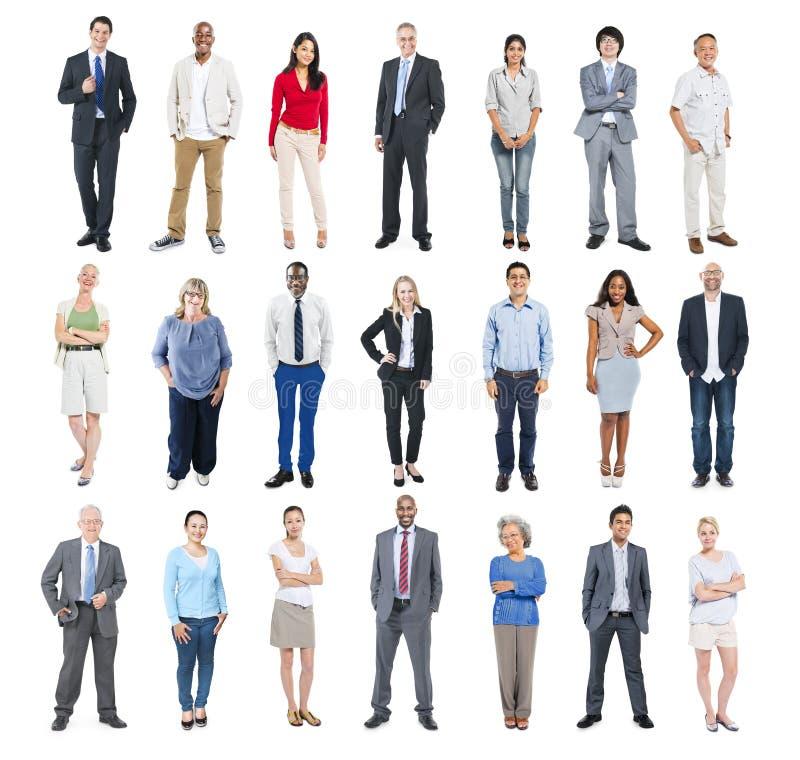 Groep Multi-etnische Diverse Bedrijfsmensen royalty-vrije stock fotografie