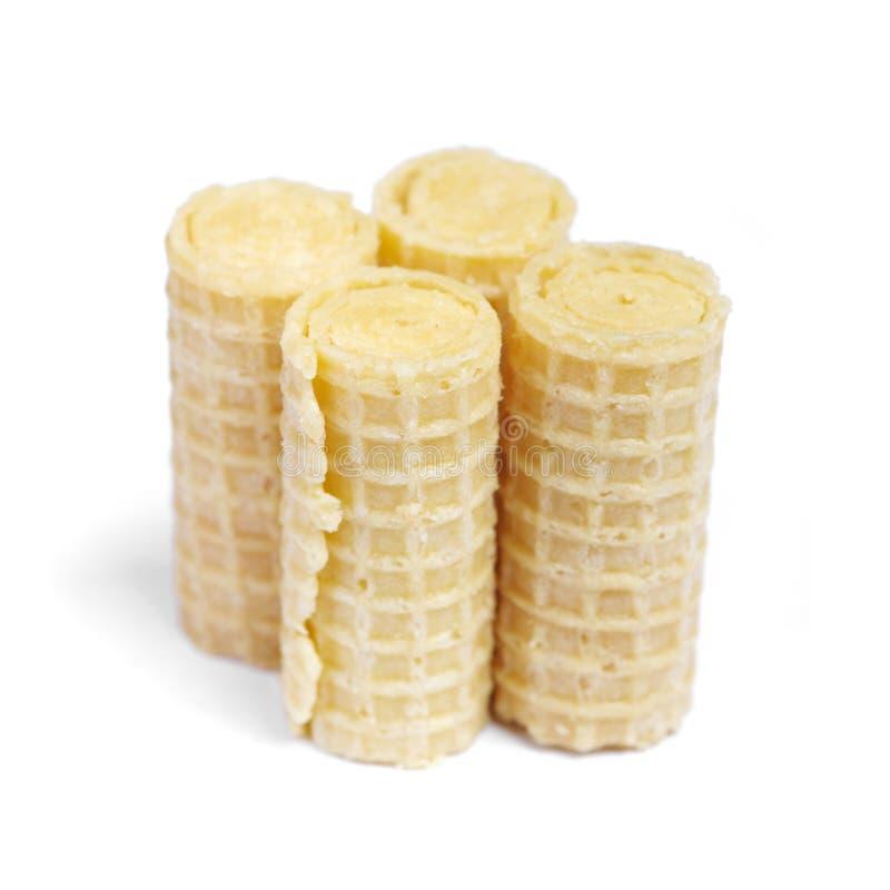 Groep wafeltjebroodjes royalty-vrije stock afbeeldingen