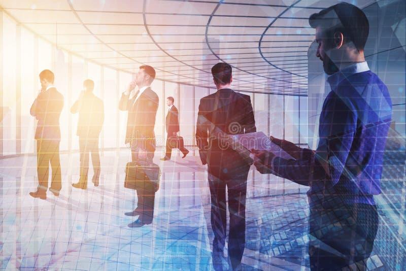 Groepswerk, vergaderings en succesconcept stock fotografie
