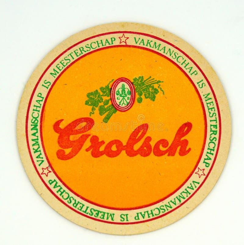 Beer Mats Beer Coasters 10 x Grolsch Coasters