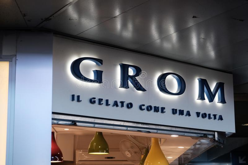 Download Grom Ice Cream Shop Editorial Photography Image Of Italian
