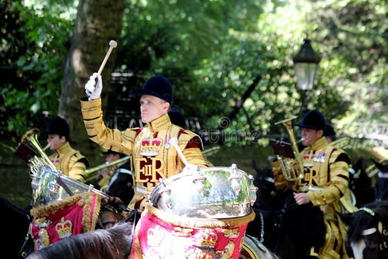 Gromadzący się Colour 2017 Londyński Anglia fotografia royalty free