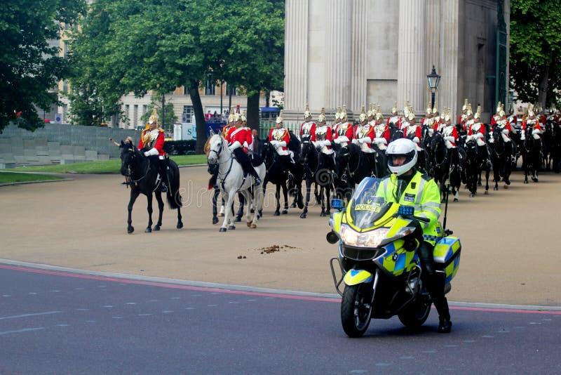 Gromadzić się Colour Londyn Anglia zdjęcia royalty free