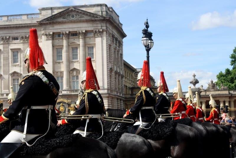 Gromadzić się Colour Londyn Anglia fotografia stock