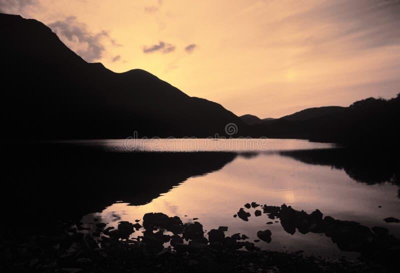 gromadzki jezioro zdjęcie royalty free
