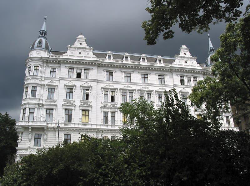 Gromadzkich biur budynek w historyzmu stylu fotografia stock