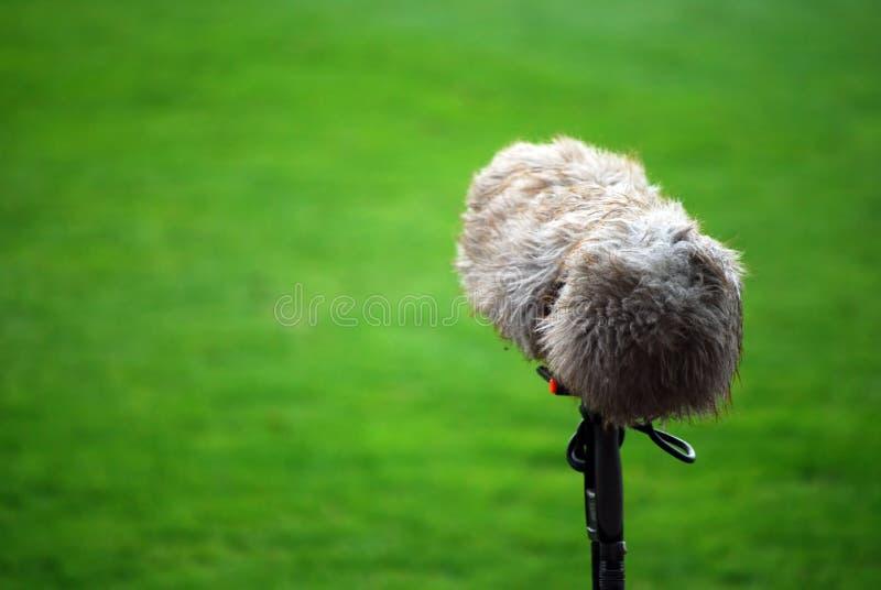 Grondement de microphone images libres de droits