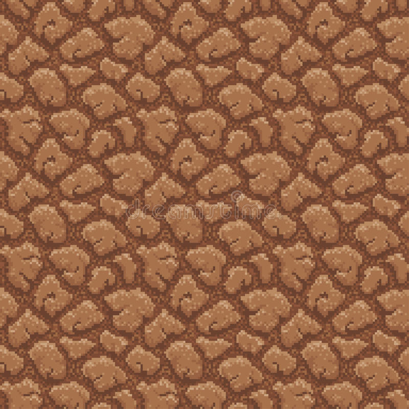 Grondpatroon - Pixel Art Illustration