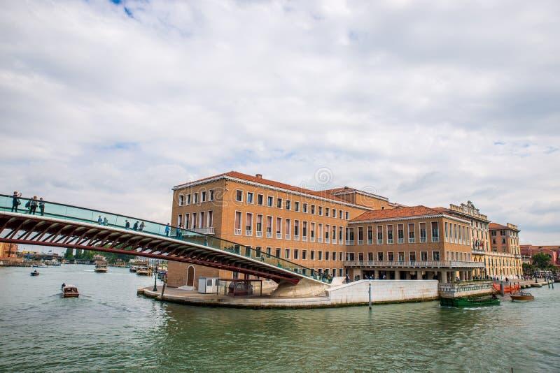 Grondwetsbrug, Venetië royalty-vrije stock foto's
