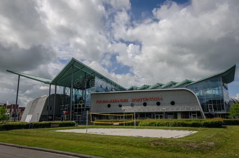 GRONINGEN NEDERLÄNDERNA - JUNI 16, 2017: Willem-Alexander sport royaltyfri fotografi