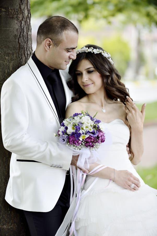 Download Groom невесты напольный стоковое изображение. изображение насчитывающей пары - 41660383