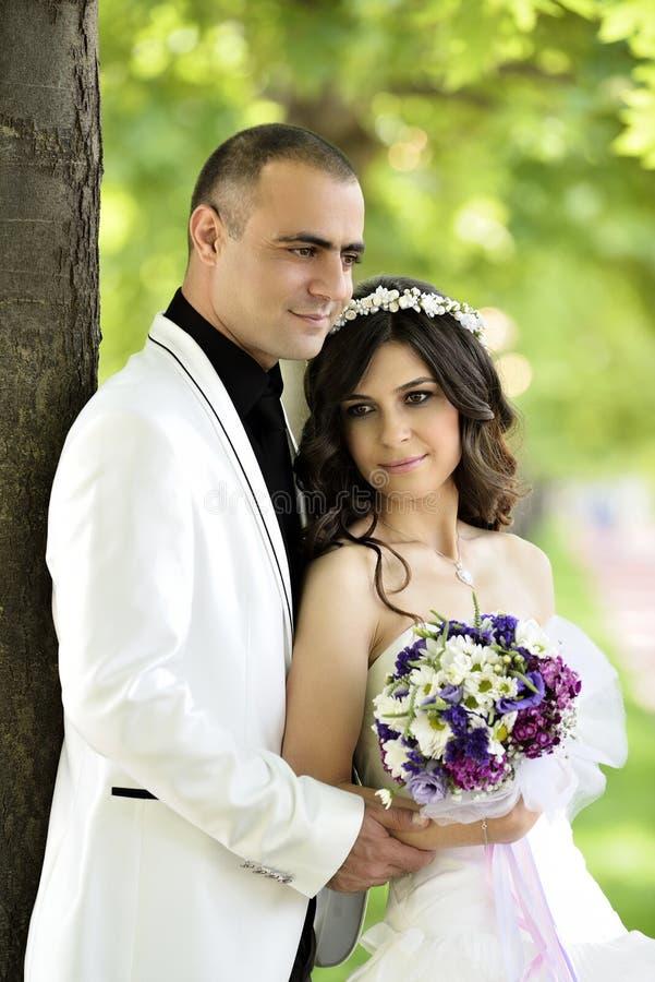 Download Groom невесты напольный стоковое фото. изображение насчитывающей платье - 41660512